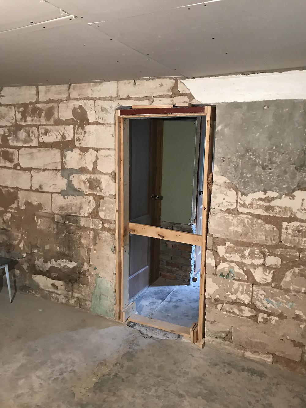 дверной проем, ремонт