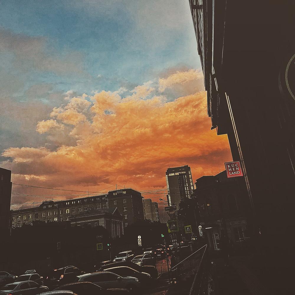 небо в тонах