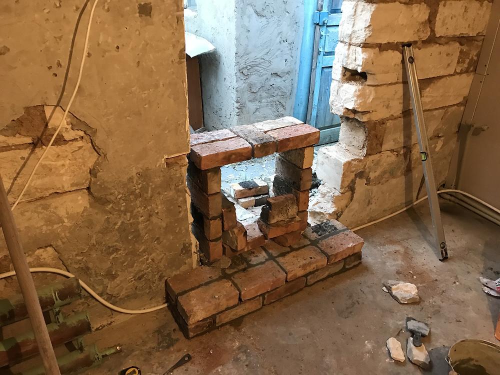 камин ремонт