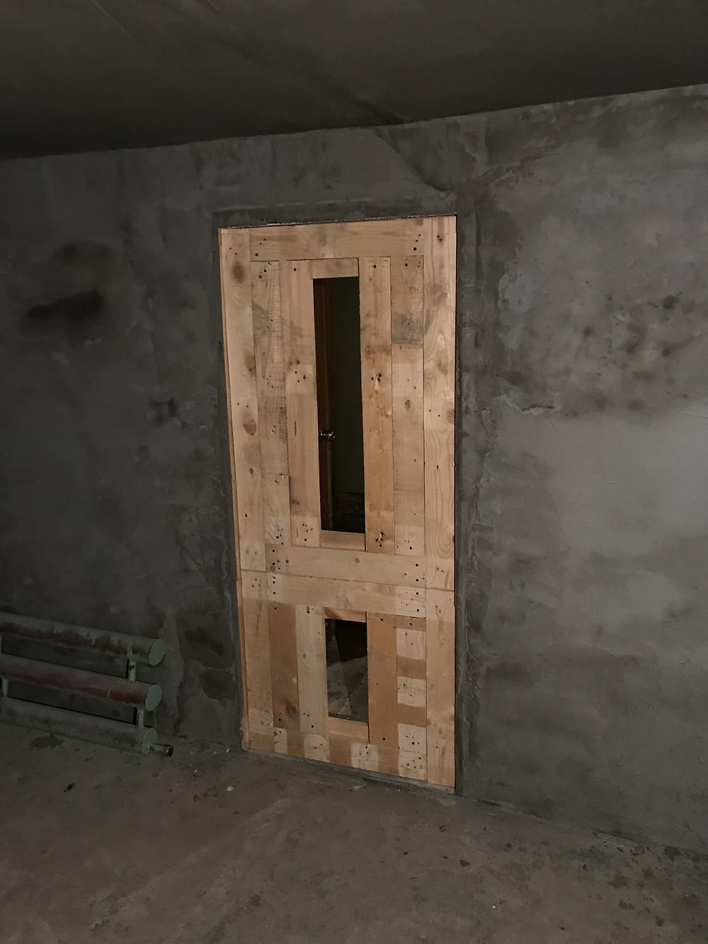 дверь своими руками ремонт
