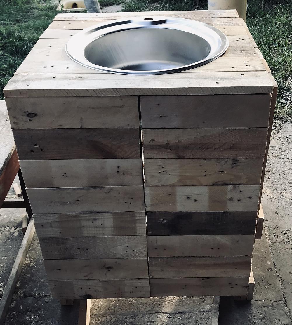 мойка для кухни из дерева своими руками