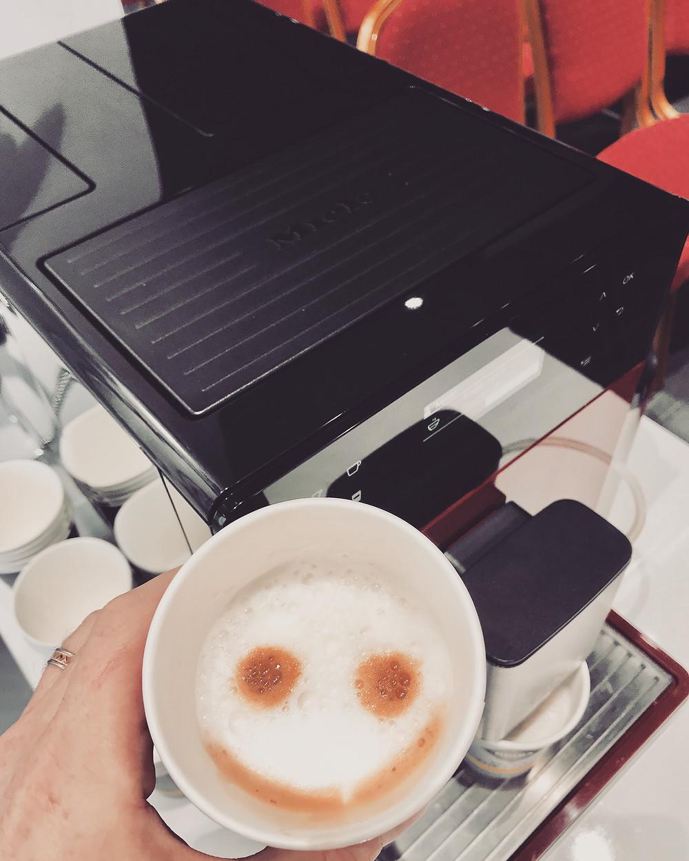 Smile из кофе