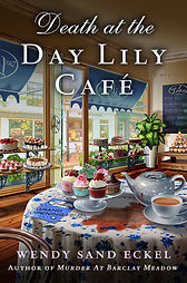 Cover image of Death at the Day Lily Cafe