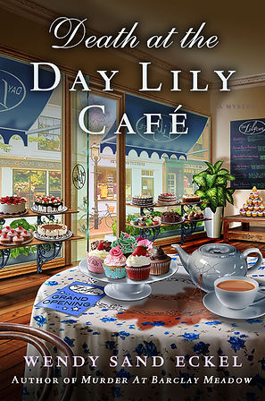 Deat at the Day Lily Cafe Book Cover Art