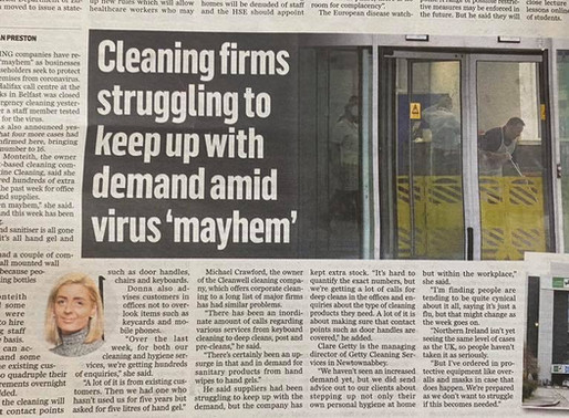 Belfast Telegraph interview