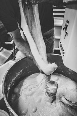Elastic dough is a sign of a well developed gluten.