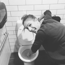 Micha in the toilet.JPG