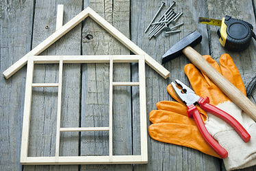 House construction renovation abstract b