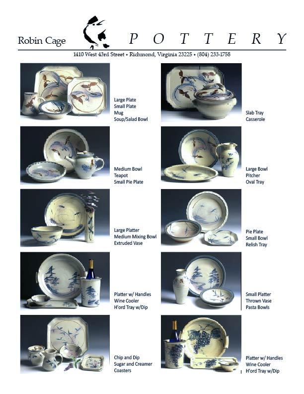 blue/white pottery glaze pattern