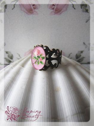 Růžový filigrán