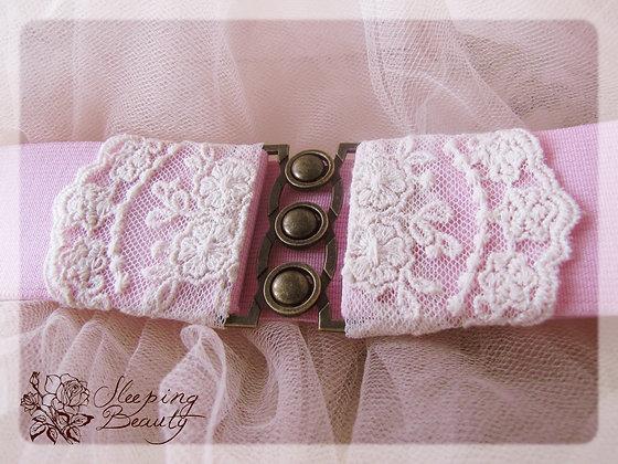 Pásek růžový