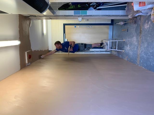 Inside plastering