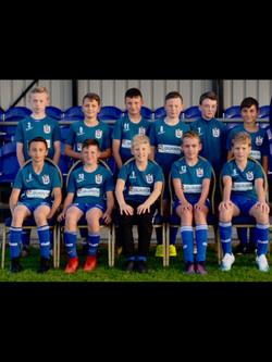 U12 whites team