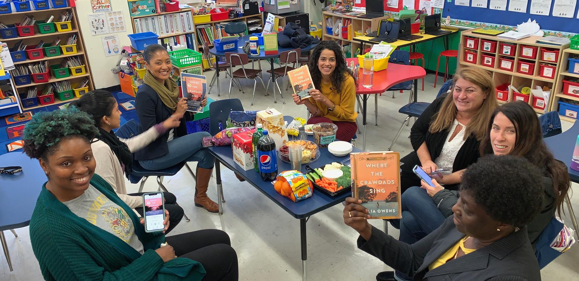Staff Book Club