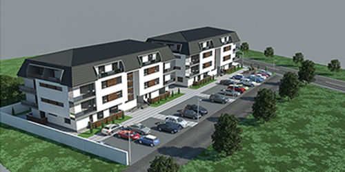 Bouwproject appartementen in Roemenië.