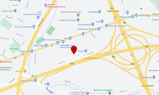 Google maps Lozenberg Zaventem.