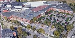 Overview kantoorgebouwen in het Airport Business Center in de Luchthavenlei te Deurne.
