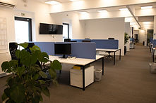 Kantoorgebouwen van Unifly in het Aiport Business Center in Deurne.