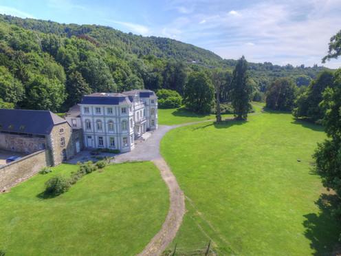 Château de Sainval à Tilff.