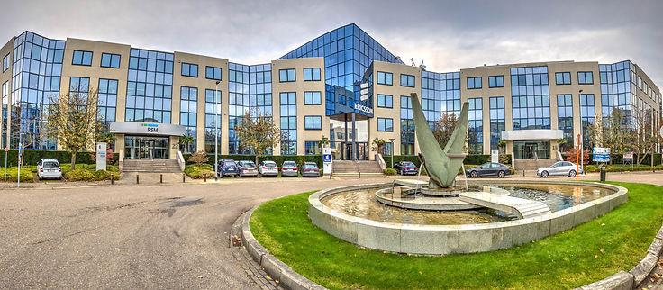 Vastgoed voor bedrijven in het Airway Park in Zaventem.