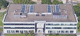 Overview bedrijfsgebouw Metrologielaan 10 in Haren.