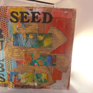 Seed Cover Altered Book Cover