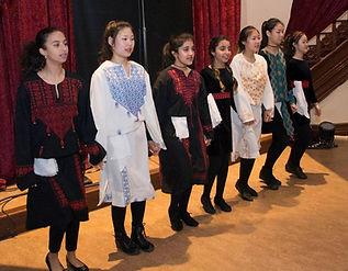 Teenage Girls Dancing on Stage