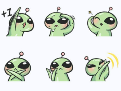【外星語】