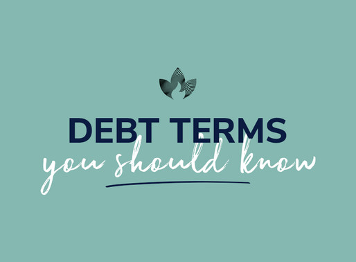 Debt Terms you should know