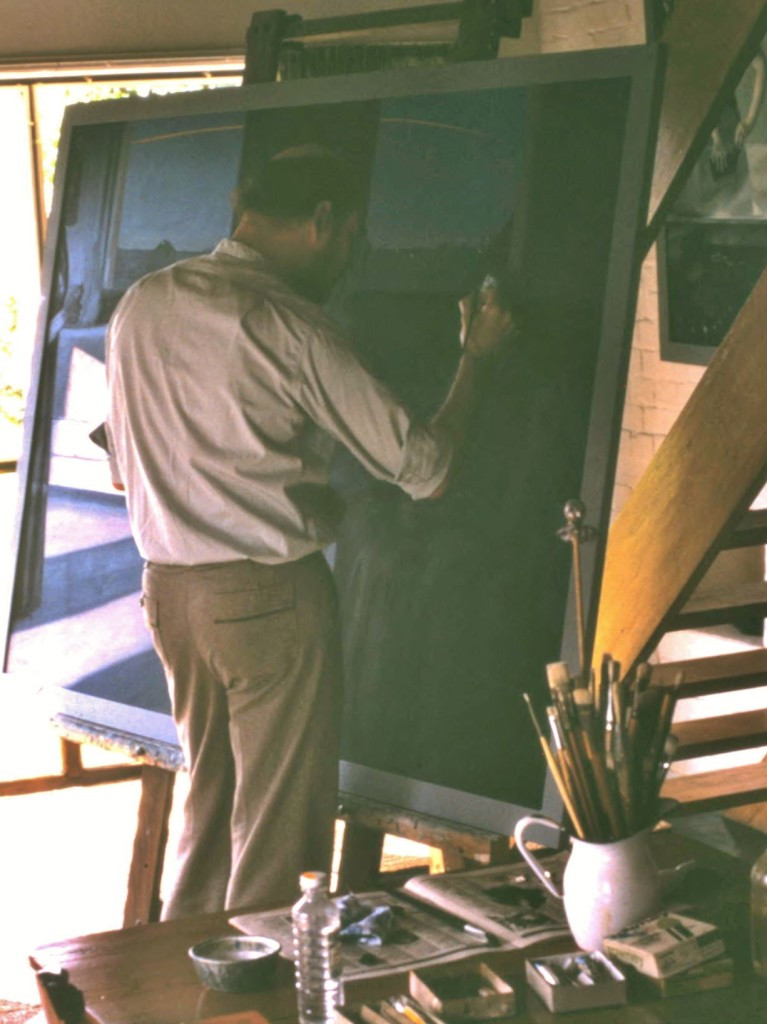 Working-on-Nightfall-at-The-Mill-in-1980
