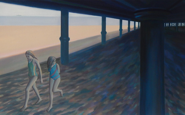 Two Girls Under the Pier (1992)