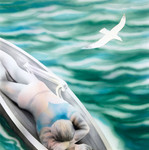 Tristan is cast adrift off the Irish coast