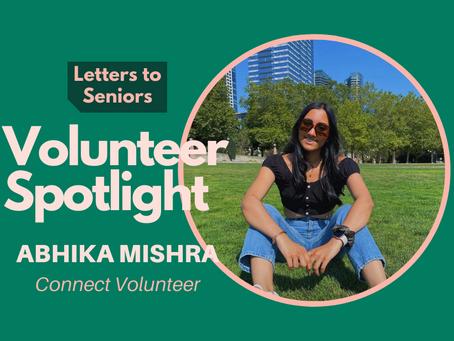 Volunteer Spotlight: Abhika Mishra
