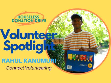 Volunteer Spotlight: Rahul Kanumuri