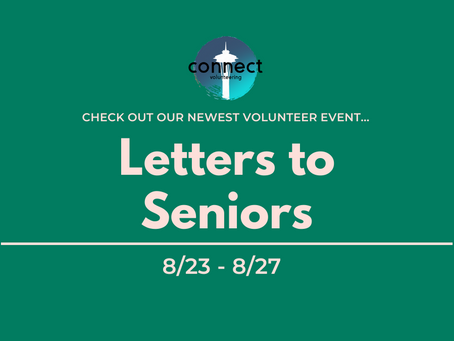 NEW EVENT: Letters to Seniors
