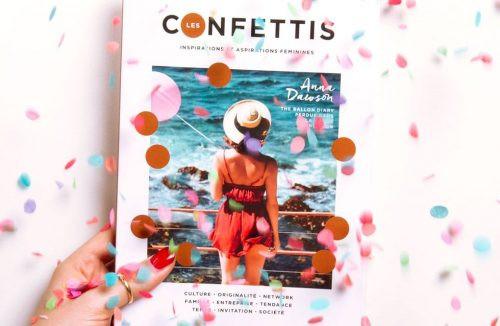 image du magazine les confettis