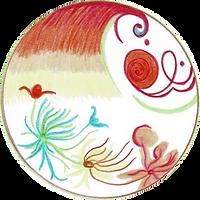 Mandala fait ensemble pour notre troisième tome d'améliorer mon présent. Parle de vie crée avec attention, amour, intention, conscience et bienveillance, absence de jugement