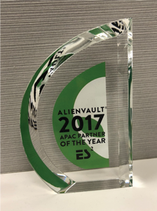 AlienVault APAC Partner of the Year