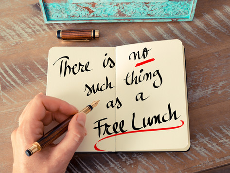 """How much is your """"free"""" lunch costing you?"""