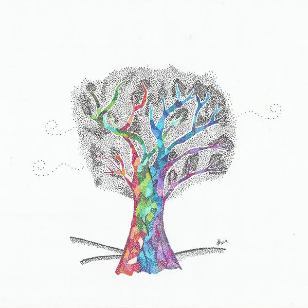 True Colors of a Tree