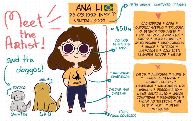 Meet the Artist | Conheça a Artista!