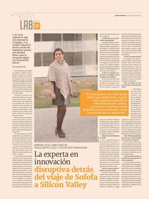 Diario Financiero - La experta de innovación disruptiva...