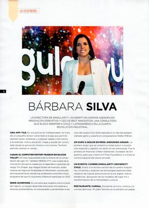 Revista Capital - Yo Recomiendo: Bárbara Silva