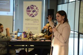 Primer fin de semana de la Academia Her Global Impact 2019