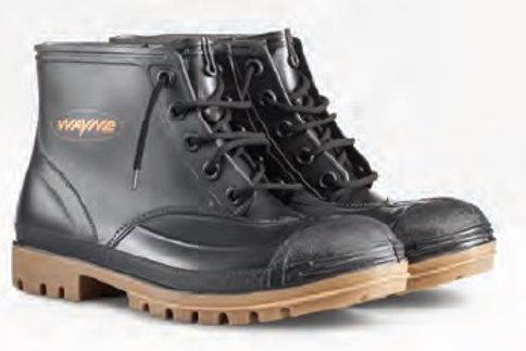 Wayne Miners Ankle Black/Toffee SABS STC