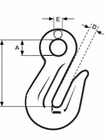 13mm Grab Hook Eye Type