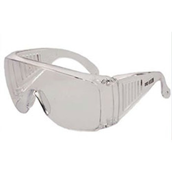WRAP AROUND Safety Glasses Clear