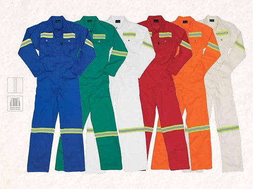 Reflective One Piece Overhall Color Range WorkWear