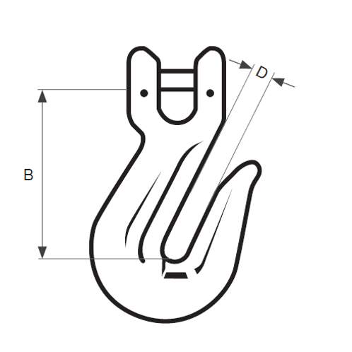 26mm Grab Hook Clevis Type