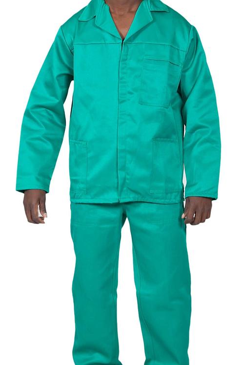 Acid Resistant Conti Suit Bottle Green Workwear
